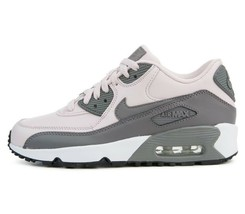 Nike Air Max 90 LTR (GS) Barely Rose Gunsmoke White Grade School 833376 601 image 2