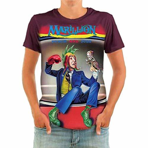 Primary image for BORN2ROCK Punch and Judy Official Marillion Merchandise Men's Short Sleeve Rocke