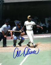 Al Oliver signed Pittsburgh Pirates 8x10 Photo (batting) - $15.00