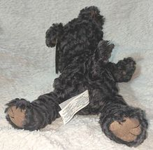 Mary Meyer 52635 Polyester Fibers Black 12 Inch Fab Fuzz Cole Puppy image 3