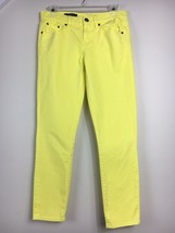 J. Crew Women's Yellow Toothpick Skinny Ankle Jeans Size 27 - $28.71