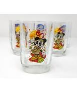 Walt Disney World Celebration Mickey Mouse Water Glasses set of 6 - $25.00