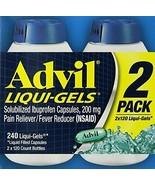 Advil Liqui-Gels Liquid Filled Capsules, 240 Ct - $13.73