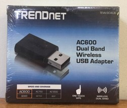 New TrendNet AC600 Dual Band Wireless USB Adapter TEW-804UB/A Dongle - $26.99