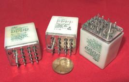 3 Pcs AMF Potter & Brumfield Relay - 4PDT 28VDC / 120VAC 3A 1/10HP KH-5569-1 Amp - $13.93