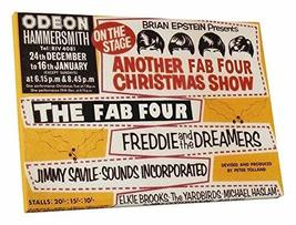 "Pingo World 1223PLS9G6Y ""Radio Days 'The Fab Four'"" Gallery Wrapped Canvas Art,  - $59.35"