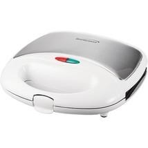 Brentwood Appliances TS-240W Nonstick Compact Dual Sandwich Maker (White) - $32.42