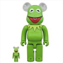 BE@RBRICK 400% & 100% Kermit Bearbrick 400 & 100 Medicom Toy Figure - $402.99