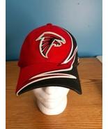 Atlanta Falcons Reebok Strapback Hat Cap Red Black NFL Super Bowl - $15.79