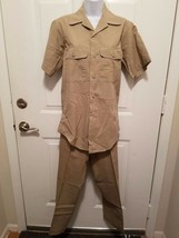 "US Air Force Vietnam 1974  Uniform 14"" Tan Shirt 1505 28""x29"" Pants Military - $100.00"