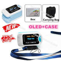 FDA Hot Sale Finger Pulse Oximeter Blood Oxygen SpO2 Monitor Pouch &lany... - $11.29
