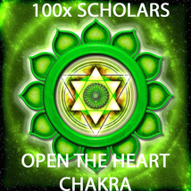 100X 7 SCHOLARS WORK OPENING THE HEART CHAKRA FOR SIGHT MAGICK RING PENDANT - $54.89