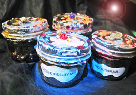 Haunted Custom Witch Large Jar Tailored Custom 44X Oil Herbs Elements Magick - $44.00