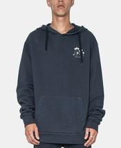 Zeegeewhy Men's Graphic Hoodie, Size S, Vintage Black, MSRP $89 - $37.39
