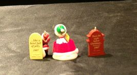 Hallmark Handcrafted Ornaments AA-191774A Collectible  ( 3 pieces ) image 4