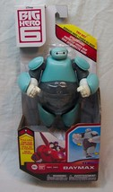"Disney Big Hero 6 PUNCHING BAYMAX IN FIRST ACTION SUIT 6"" ACTION FIGURE ... - $24.74"