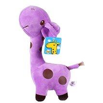 """Plush Doll for Kids Lovely Giraffe Plush Toys 14.9"""" H Purple - $26.37"""