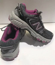New Balance Womens WTE412S1 Trail Running Shoes Sneakers Gray Purple Siz... - $44.88