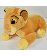 "Disney's THE LION KING 9"" SIMBA CUB Bean Filled STUFFED PLUSH ANIMAL Sof... - $9.89"