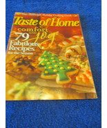 Taste of Home Magazine Dec - January 2008 Comfort And Joy - $2.99