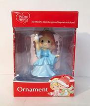 KCare Angel Girl Blue Dress Dove Bird Christmas Ornament - $14.82