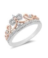 Enchanted Disney Snow White 1.7Ct Diamond Tiara In 925 Silver rings Gift... - $72.09