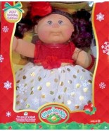 CABBAGE PATCH Kids Baby DOLL HOLIDAY 2017 Brunette Brown Curly Hair  NEW... - $51.13