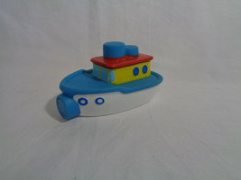 2006 Alex Toys Rubber Tug Boat Bathing Toy - $2.55