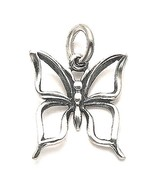 Sterling Silver Cutout Butterfly Pendant with Chain - $23.95