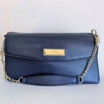 DKNY Donna Karan Navy Leather Chain Bag ~ New with Dust Bag - $99.95