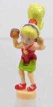 1998 Vintage Polly Pocket Doll CD Player - Polly Bluebird Toys - $6.00