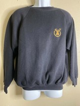 Vtg Glenfiddich Distillery Men Size L Black Sweater Light Scotland RARE - $26.80
