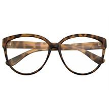 Retrò da Donna Nerd Lenti Trasparenti Moda Occhio di Gatto Occhiali Nerd - $8.60