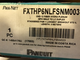 FXTHP6NLFSNM003 Panduit Breakout Cable OM3 12 Fibers Mpo To Lc Duplex - $10.00+