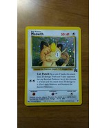 Pokemon card JR West Japan 2000 stamp rally Promo Meowth Limited Novelty... - $196.02