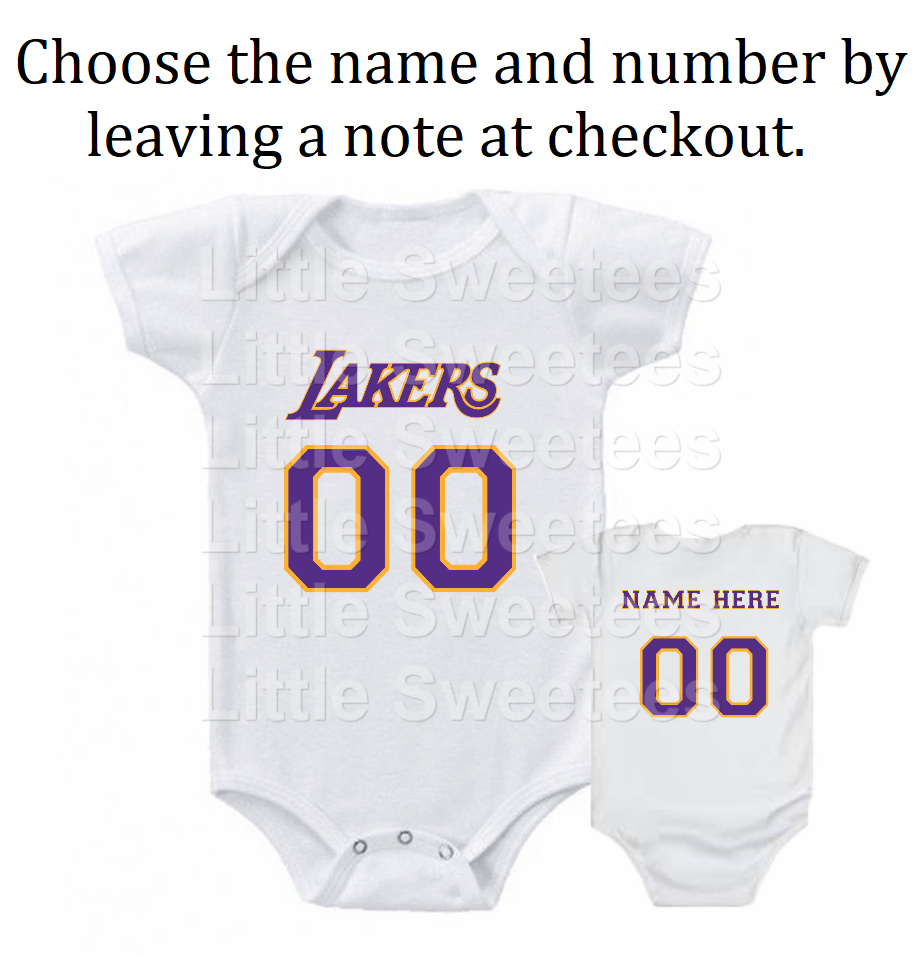 7012dcff1 Los Angeles Lakers Jersey Onesie and 50 similar items
