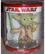 2009 Funko Star Wars Yoda Ultra Stylized Bobble Head New In The Package - $24.99