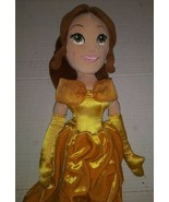 "Disney Store Princess Belle Soft Plush Doll Toy 19""  Beauty & the Beast - $21.77"