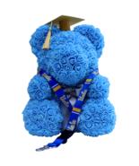 Graduation Blue Rose Bear Cap & Tassel w/ FREE UCLA Lanyard Class of 201... - $158.39