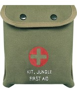 Olive Drab M-1 Jungle First Aid Red Cross Pouch - $8.49