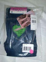 Freestyle Revolution Girls' Big Jade Jegging Jean, Dark, Dark Wash,Size 4 Sealed image 3