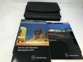 2016 Mercedes-Benz C-Class Owners Manual Handbook Set with Case OEM Z0A1353 - $66.81