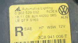 09-12 VW Volkswagen CC Halogen Headlight Head Lights Matching Set L&R image 9