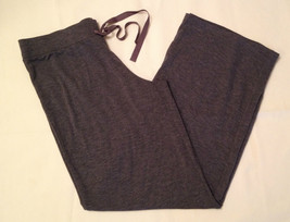 Natori Inside Out Jersey Pants R77092 Charcoal Medium - $38.00
