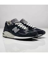 New Balance 990 V2 Navy Running Shoes M990NV2 Size 12 NEW - $247.49