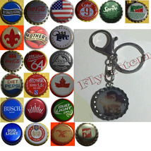 Wonder Woman Coke Sprite Diet pepsi & more Soda beer cap Keychain