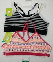 2 Circo Girls Seamless Cropped Training Bras Size M 32  Multicolored - $12.59