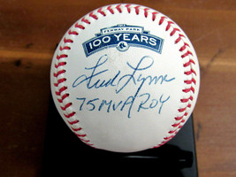 FRED LYNN 1975 AL MVP ROY RED SOX ORIOLES SIGNED AUTO FENWAY 100TH BASEB... - $98.99