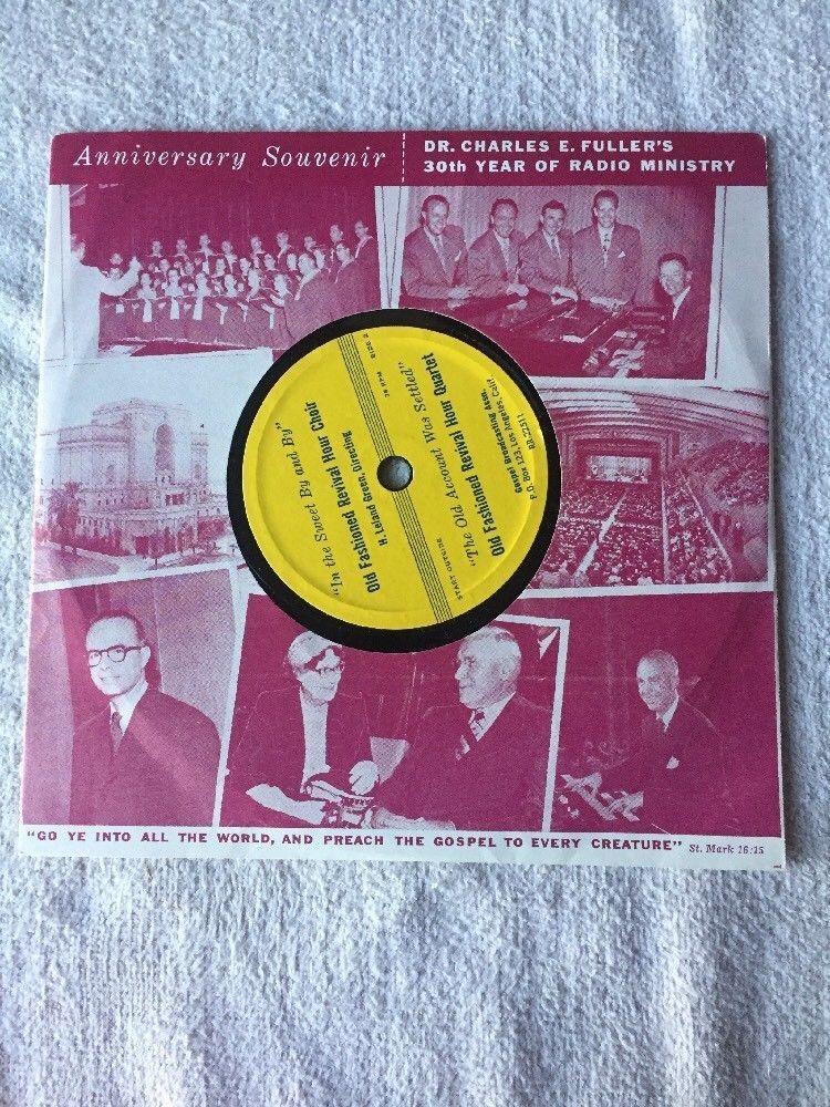 Charles E. Fuller - Heavenly Sunshine - Gospel Broadcasting Association EP