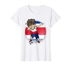 Sport Shirts - Dabbing Soccer Boy Costarica Jersey Flag Costarican T Shi... - $19.95+